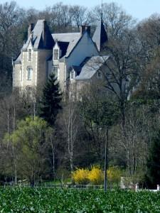 Château de la Roche Bodard, Chemin de Saint Jacques de Compostelle, Vendôme, Vallée du Loir, Loir et Cher