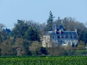 Château de Moncé, Chemin de Saint Jacques de Compostelle, Vendôme, Vallée du Loir, Loir et Cher