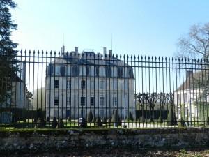 Château de Meslay, Chemin de Saint Jacques de Compostelle, Vendôme, Vallée du Loir, Loir et Cher