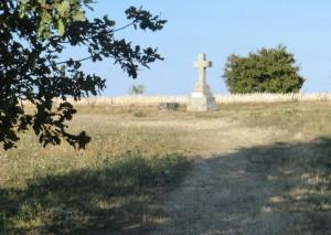 Lavardin, Vallée du Loir, parmi les Plus Beau Villages de France, forteresse médiévale, randonnée autour de Lavardin, Croix Bonneau