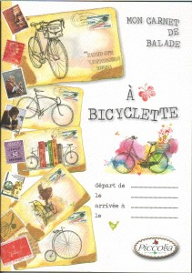 Couverture carnet balade cyclo