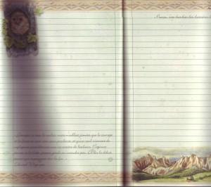 page carnet balade