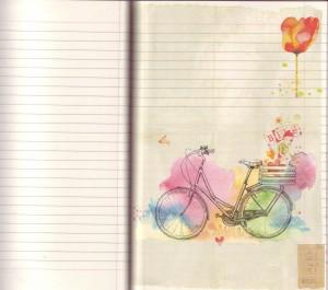 page carnet balade cyclo