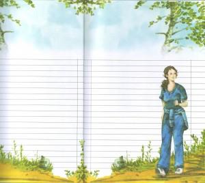 page carnet promenade