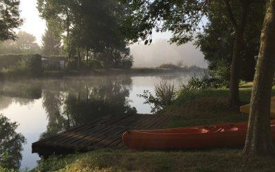 Une bouffée d'oxygène en canoë sur le Loir