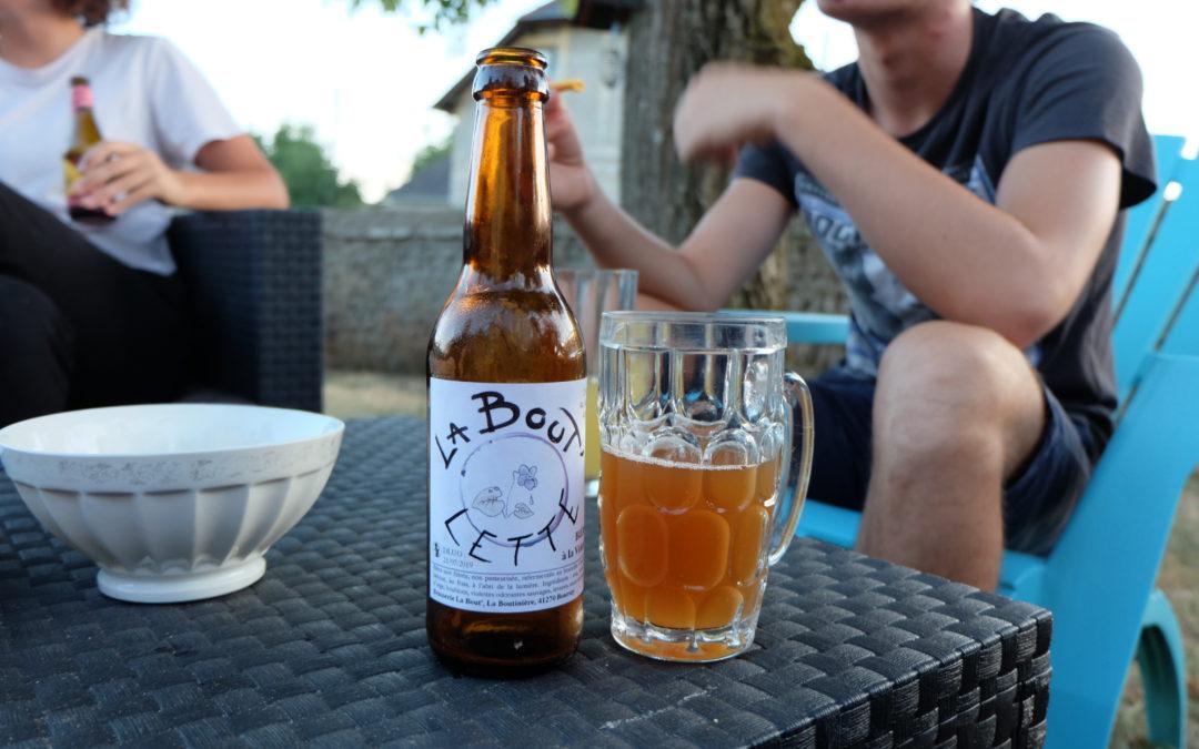 Une bière artisanale dans le Perche Vendômois