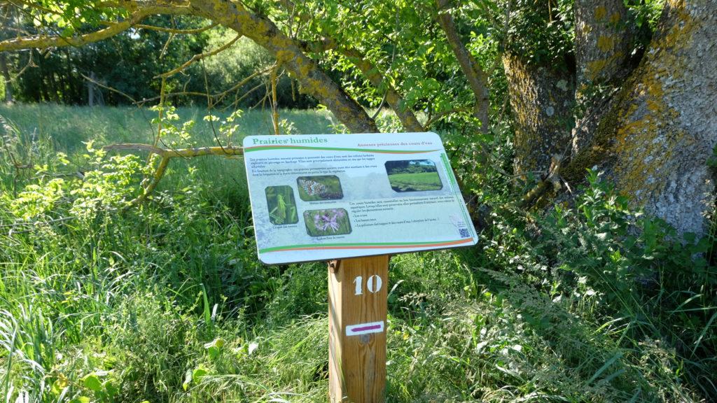Panneau pédagogique Perche Nature- Ecobalade Saint-Firmin-des-Prés