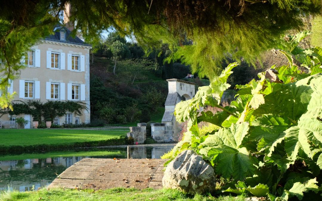 Le Jardin du Plessis Sasnières en famille