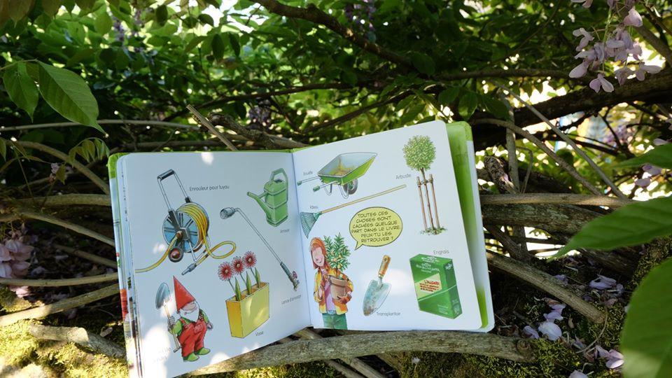 Nouveau livre : jardinage enfants
