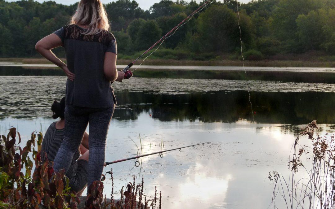 Le « Girl Power » a la pêche !