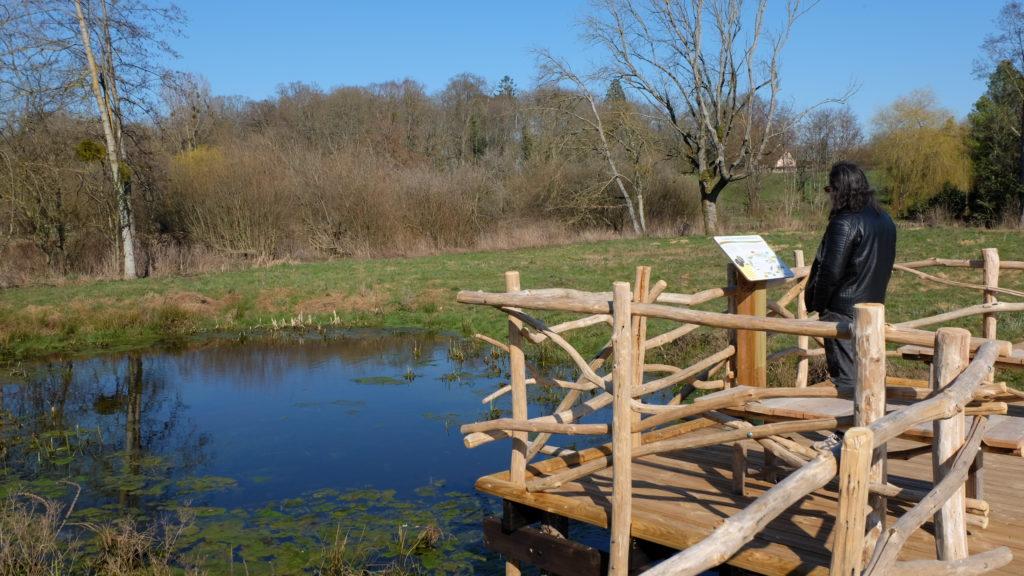 """Circuit de randonnée """"entre rivières & bocage"""" à Sargé-sur-Braye"""
